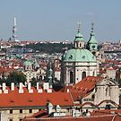 Prague St. Nicholas Church by Elena Skvortsova