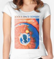 2001 A Space Odyssey Shirt! Women's Fitted Scoop T-Shirt