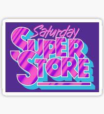 Saturday Superstore Sticker