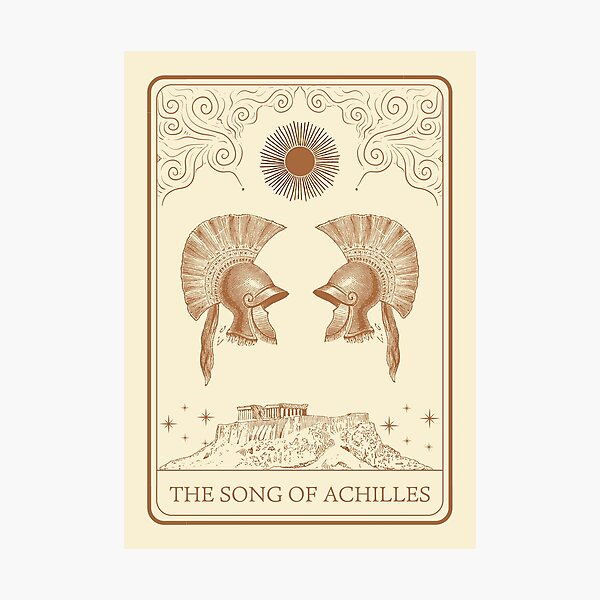 Song of Achilles Madeline Miller Photographic Print