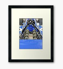 March Ford: Tyrell Formula One Racing Car Framed Print