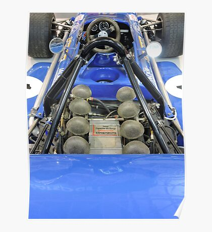 March Ford: Tyrell Formula One Racing Car Poster