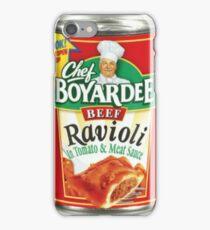 chef boyardee iPhone Case/Skin