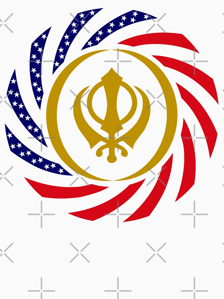 Sikh American Patriot Flag Series by carbonfibreme