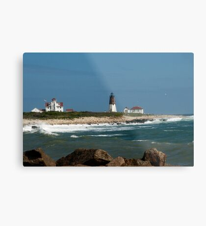Old New England Lighthouse Metal Print