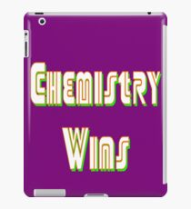 Chemistry Wins iPad Case/Skin