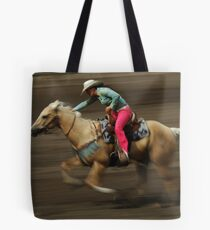 Rodeo Riding A Hurricane Tote Bag