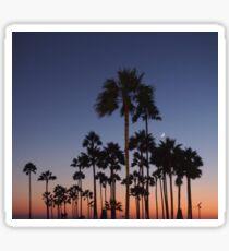 Venice Beach Sun Down Sticker