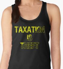 Taxation Is Theft Women's Tank Top