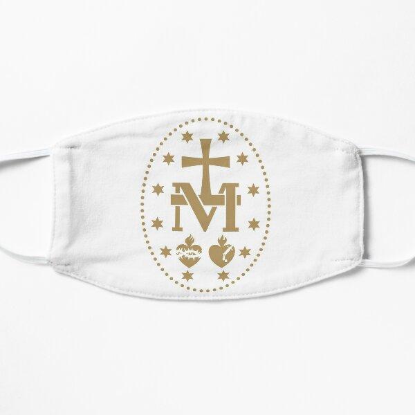 Miraculous Medal Virgin Mary Flat Mask
