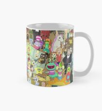 Zany Characters - Rick and Morty Mug