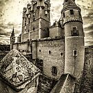 Alcázar of Segovia by FelipeLodi