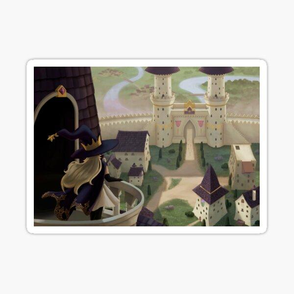 Witch's castle Sticker