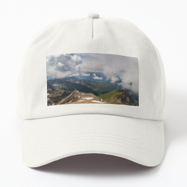 Summer trekking day in the mountains over Valtournanche Dad Hat
