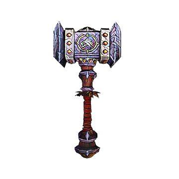 Doomhammer - Mosaic by Crazywowguy