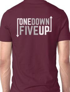 Motorcycle One Down Five Up Gear Shifter Unisex T-Shirt