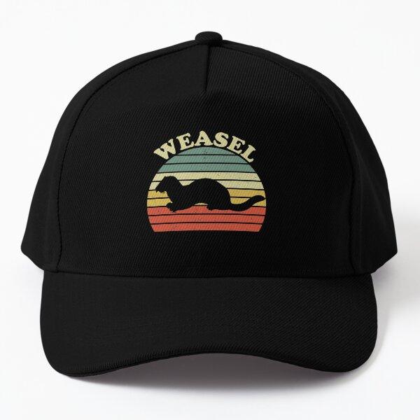 Vintage Weasel Animal Baseball Cap