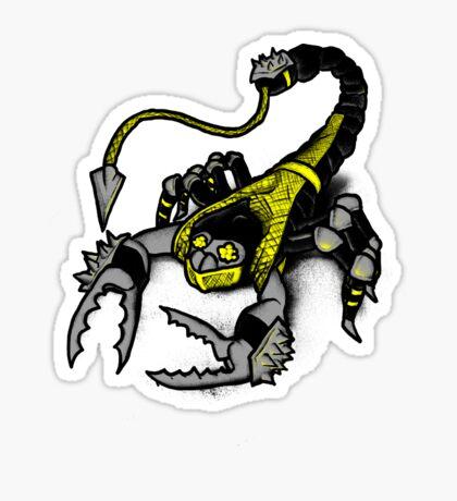 Realer Scorpion Sticker