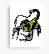 Realer Scorpion Canvas Print