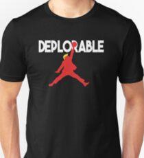 Basketball Trump - Deplorable Unisex T-Shirt