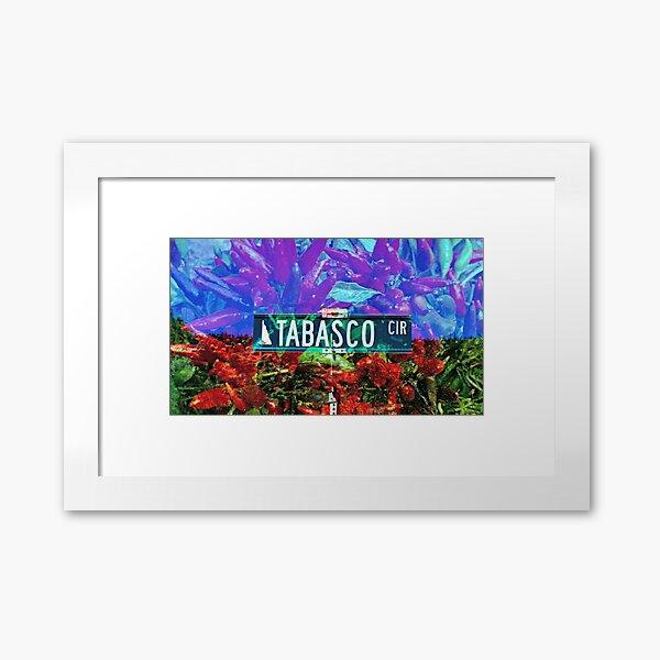 Tabasco Circle Framed Art Print