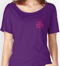 GARDEN CROSS PINK Women's Relaxed Fit T-Shirt