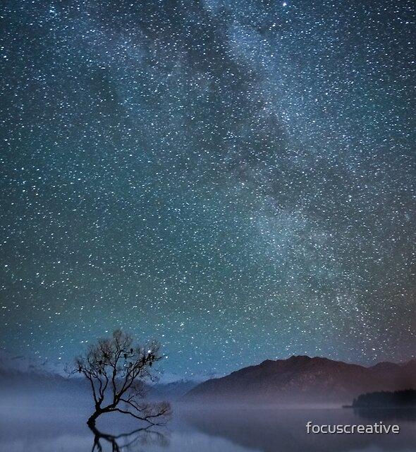 Lake Wanaka Milkyway by focuscreative
