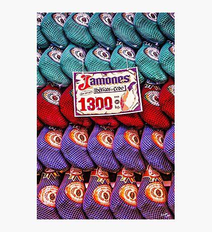 Jamones Iberico de Cebo Photographic Print