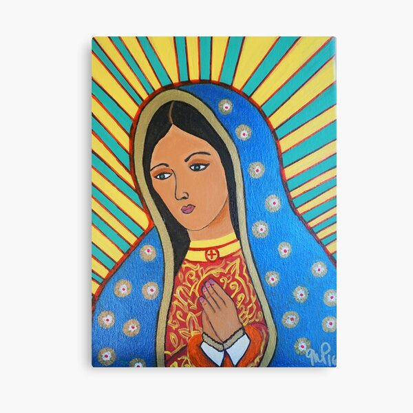 Virgen De Guadalupe Canvas Print