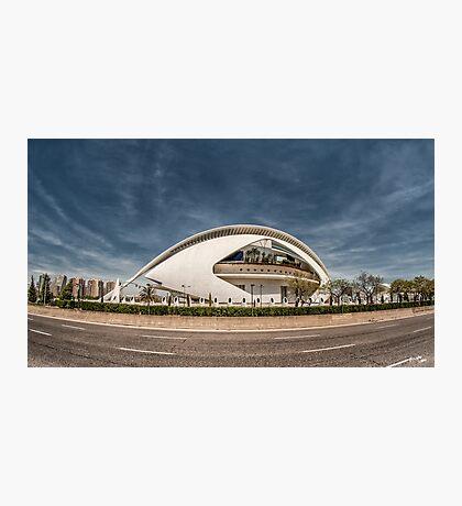 Palacio de las Artes Photographic Print