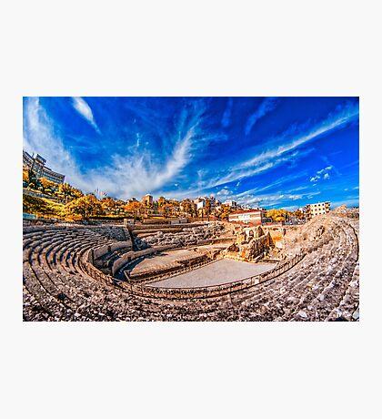 Tarragona Amphitheatre Photographic Print