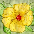 Kathy's Hawaiian State Flower by Anne Gitto