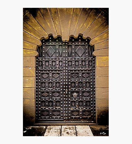 Spanish Door Photographic Print