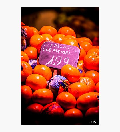 Clementines Photographic Print