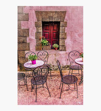 Bucolic Window Photographic Print