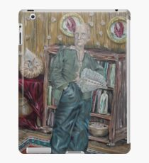 The Old Man Who Collects Shells iPad Case/Skin