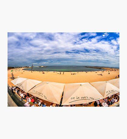 Barceloneta Beach Photographic Print