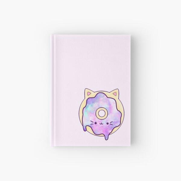 Galaxy Cat Donut Hardcover Journal