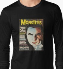 Famous MONSTERS of Filmland Long Sleeve T-Shirt