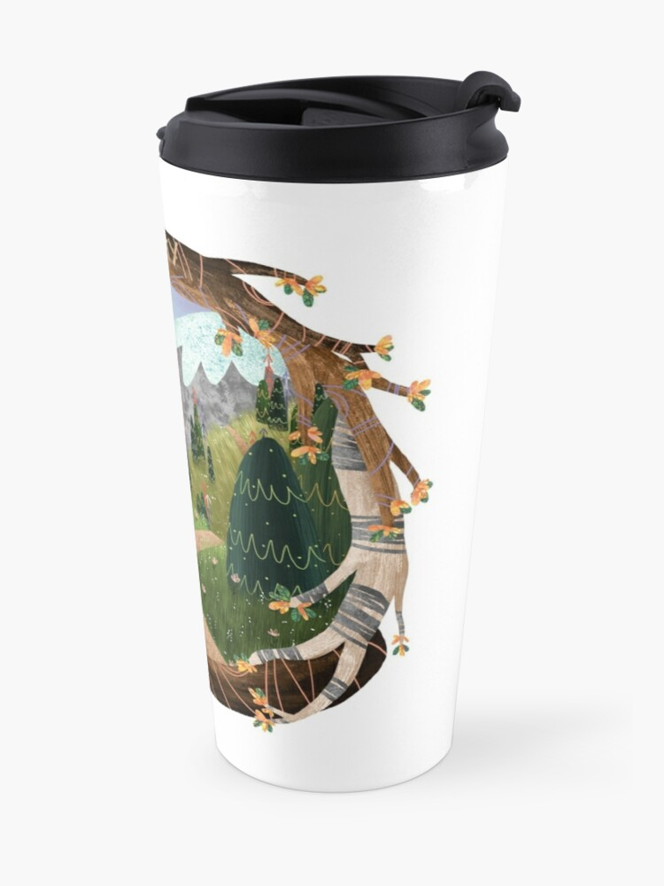Alternate view of Go Your Own Way Travel Mug