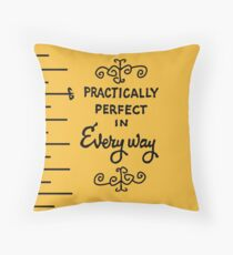 Practically Perfect Throw Pillow