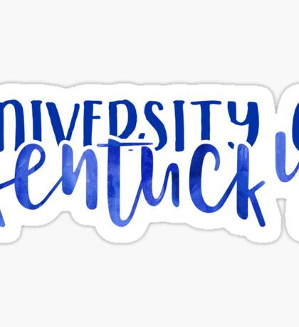 University of Kentucky - Style 1 Sticker