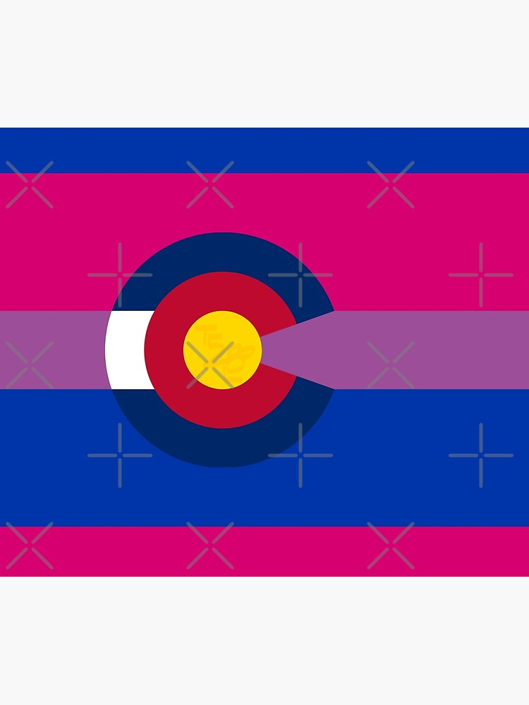 Colorado LGBTQIA2S+ Bi Pride Flag by that5280lady