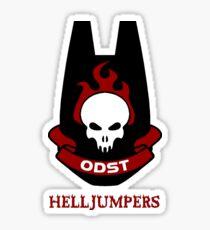 ODST Helljumpers Sticker Sticker