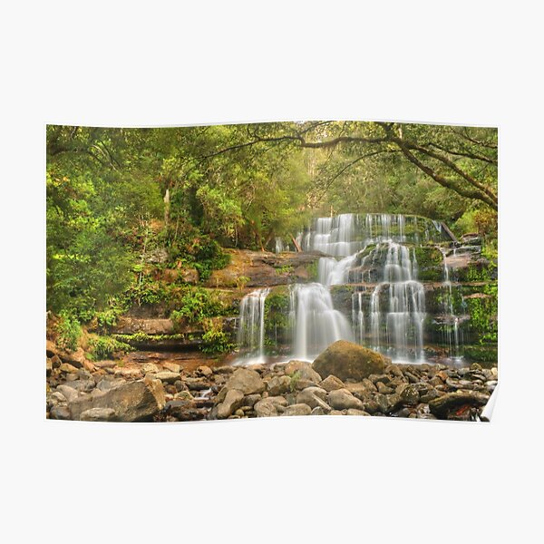 Liffey Falls - the greener view Poster