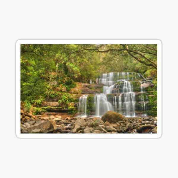 Liffey Falls - the greener view Sticker