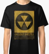 Fallout Shelter - Old & Busted! Classic T-Shirt