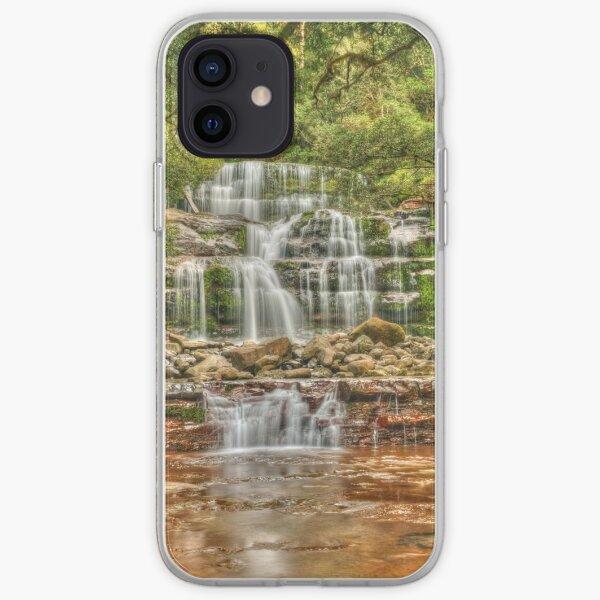 Liffey Falls portrait iPhone Soft Case
