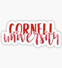 Cornell - Style 1 Sticker