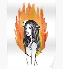 FIRE GIRLS Poster